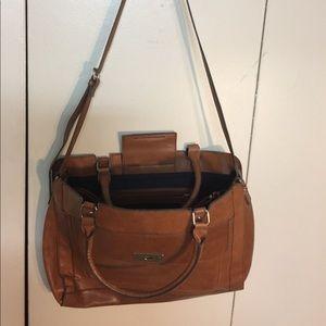 Merona Brown Messenger Bag